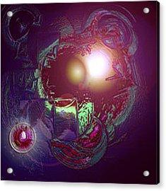 Alien Fetus Acrylic Print