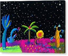 Alien Garden Acrylic Print