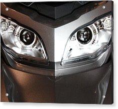 Alien Headlights  Can Am Spyder Motorcycle Acrylic Print