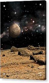 Alien Landscape No.8b Acrylic Print