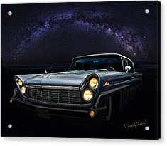 Alien Lincoln Roswell Saturday Night Acrylic Print