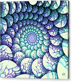 Alien Nest Acrylic Print by Anastasiya Malakhova