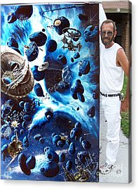 Alien Pirates Acrylic Print