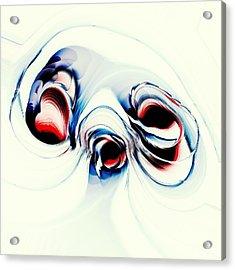 Alien Puppy Acrylic Print