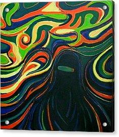 Alienation Acrylic Print by Zofia  Kijak