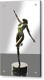 Aline Acrylic Print by Lincoln Stone