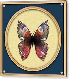 Alizarin Butterfly Acrylic Print