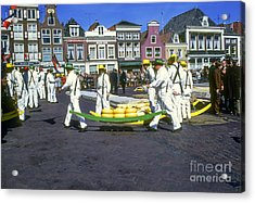 Alkmaar Cheese Market Acrylic Print