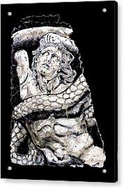 Alkyoneus Acrylic Print by Steve Bogdanoff