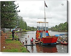 Acrylic Print featuring the photograph All Aboard by Ankya Klay