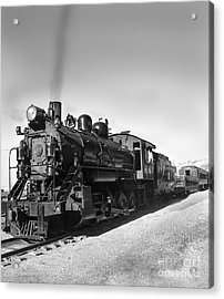 All Aboard Acrylic Print by Robert Bales