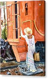 All Aboard  Acrylic Print by Susan Duda