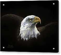 All American Acrylic Print by Jamil Alkhoury