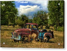 All By Myself Acrylic Print by Ken Smith