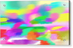 All Colors Acrylic Print by Rosana Ortiz