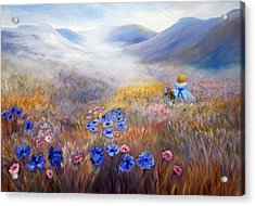 All In A Dream - Impressionism Acrylic Print
