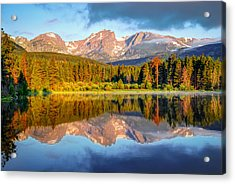All Is Calm - Rocky Mountain National Park Acrylic Print by Gregory Ballos