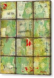 All Life...abstract Art Acrylic Print by Blenda Studio