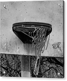 All Net Acrylic Print by Bill Cannon