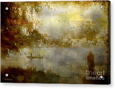 Acrylic Print featuring the photograph All Night Vigil ... by Chris Armytage