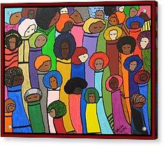 All Of Us Acrylic Print by Clarissa Burton