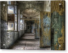 All Opened Acrylic Print by Nathan Wright