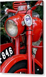 All Original English Motorcycle Acrylic Print