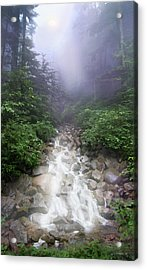 All Paths Become One Acrylic Print by David M ( Maclean )