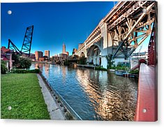 All Roads Lead To Cleveland Acrylic Print