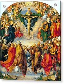 All Saints 1511 Acrylic Print by Philip Ralley
