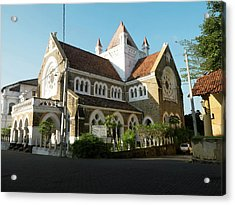All Saints Church, Church Street, Galle Acrylic Print by Panoramic Images