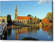 All Saints Church Marlow Acrylic Print by Tony Murtagh