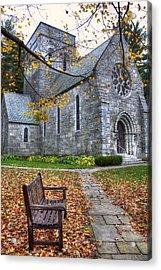 All Saints Church - Peterborough Nh Acrylic Print