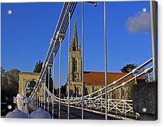 All Saints Church Acrylic Print by Tony Murtagh
