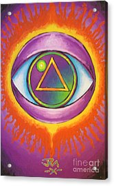 All Seeing Eye Acrylic Print by Jedidiah Morley