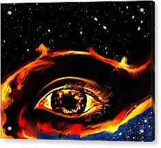 Acrylic Print featuring the painting All Seeing Eye by Persephone Artworks