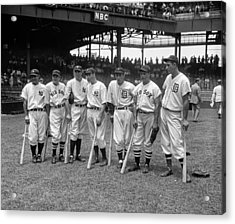 All-star Game, 1937 Acrylic Print by Granger