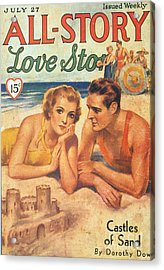 All-story 1920s Usa Holidays Love Acrylic Print by The Advertising Archives