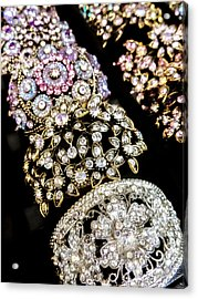 All That Glitters Acrylic Print by Caitlyn  Grasso