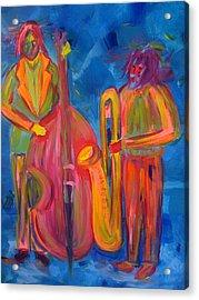 All That Jazz Acrylic Print by Judi Goodwin