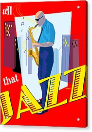 All That Jazz Acrylic Print by Timothy Ramos