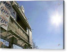 All That Remains Of Ray Winder Field Acrylic Print by Jason Politte