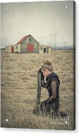 All That's Left Behind Acrylic Print
