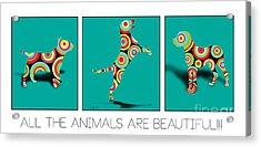 All The Animal Are Beautiful  Acrylic Print by Mark Ashkenazi