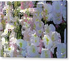 All The Flower Petals In This World Acrylic Print by Kume Bryant