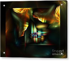 All The World's A Stage Acrylic Print by Klara Acel