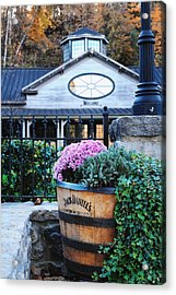 All Visitors Welcome Acrylic Print