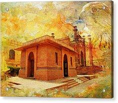 Allama Iqbal Tomb Acrylic Print