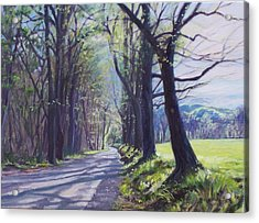 Alleghany Spring Acrylic Print