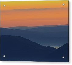 Allegheny Mountain Morning Acrylic Print